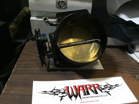 Warr Performance 92mm Throttle Body