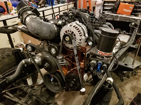 CJ7 LSX Engine Rebuild