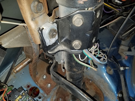 Removing the CJ7 steering column