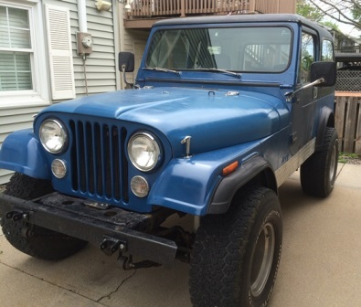 CJ7 Build List